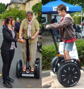 Segway events introduction UNESCO World Heritage