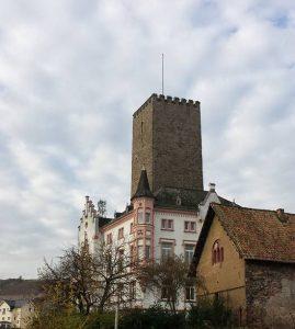 Burg Ehrenfels Ruedesheim Rheingau